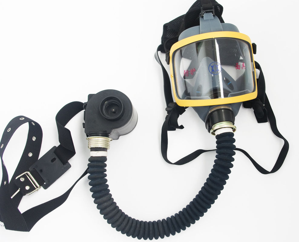 Gas Defense / Dust Proof Face Gas Mask For Whole Facial Protective 29*21*20